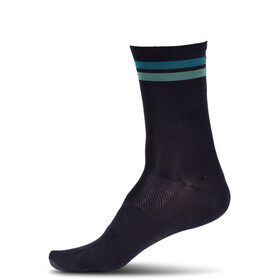 Cube High Cut Chaussettes, black´n´green